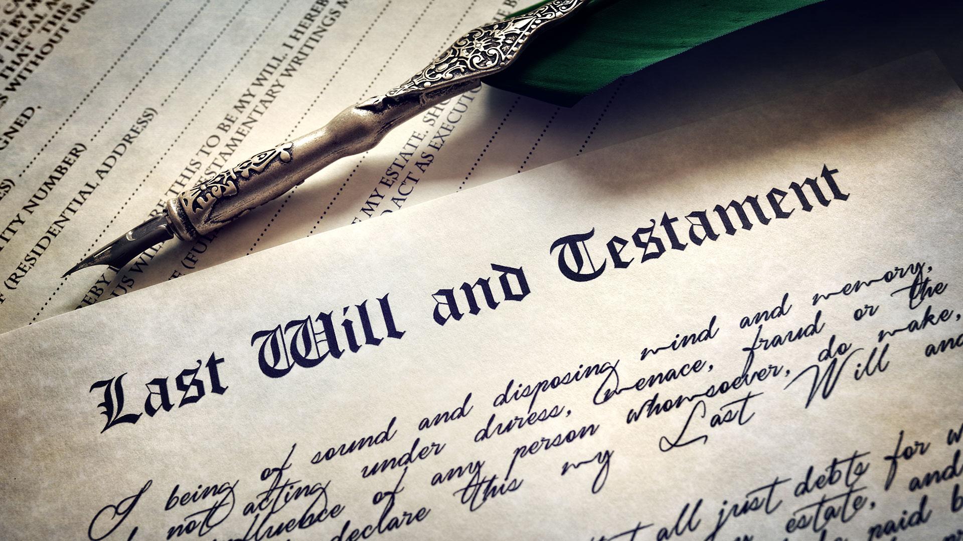 Wills, Estate & Trust Laws